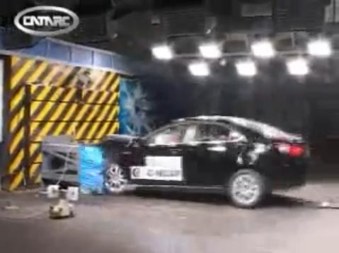 Crash Test SAIC Roewe 550
